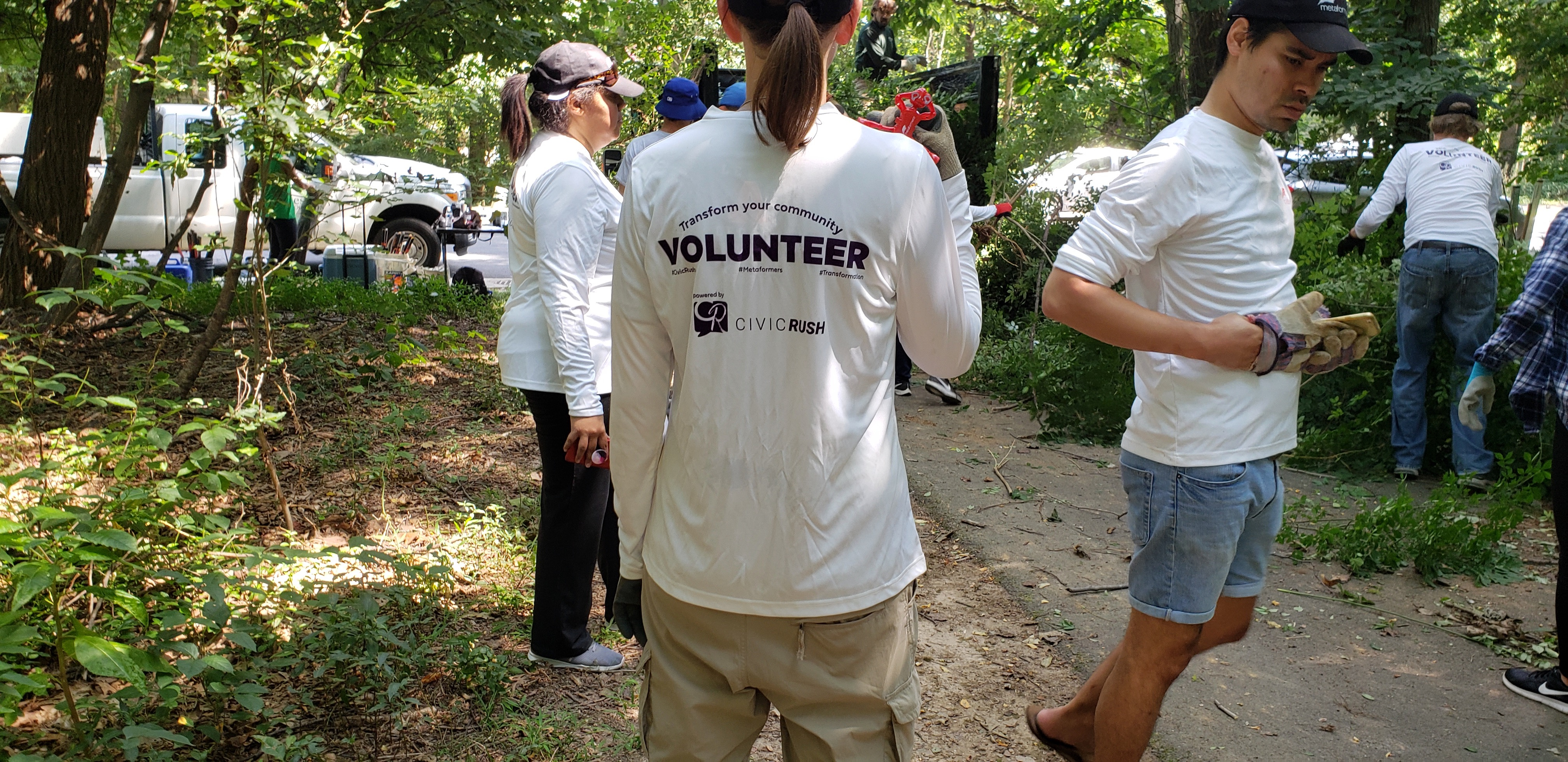 CivicRush Volunteer