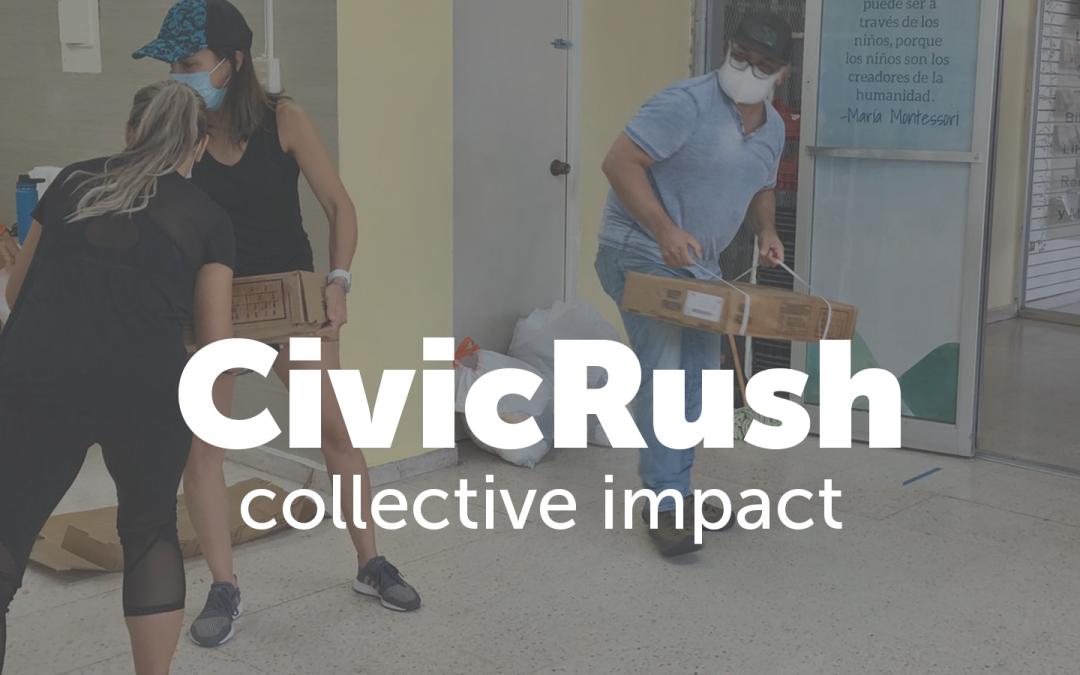 CivicRush Stories: RADM Montessori