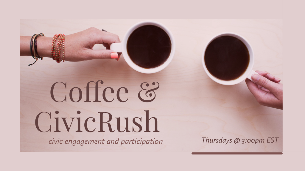 Coffee and CivicRush